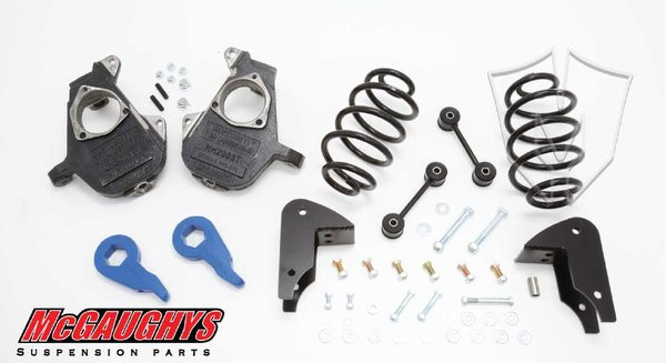 Chevrolet Tahoe LD Shocks 2001-2006 3/5 Deluxe Drop Kit - McGaughys Part# 33049