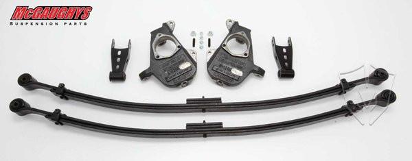 Chevrolet Silverado 1500 2007-2013 2/4 Deluxe Drop Kit - McGaughys Part# 34000