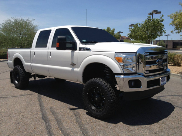 """2013 Ford F-250 - 6"""" McGaughys Lift Kit, 20x9 Fuel Wheels, 35x12.50R20 Toyo Open Country Mud Terrain Tires"""