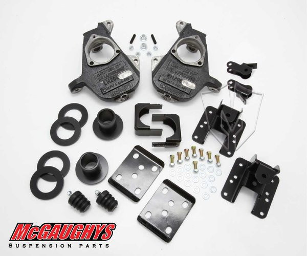 GMC Sierra 1500 2014-2018 3/5 - 4/6 Deluxe Drop Kit - McGaughys Part# 34160 / 34260