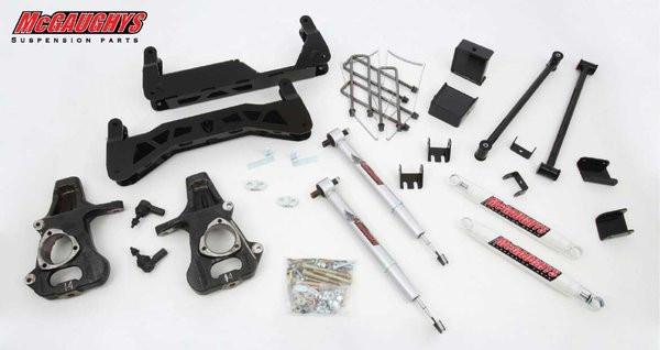 "Chevrolet Silverado 1500 2007-2013 7""-9"" McGaughys Economy Lift Kit"