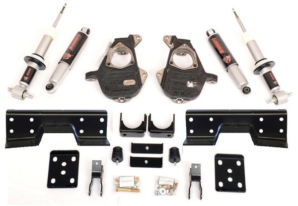 Chevrolet Silverado 1500 2wd 2014-2018 5/7 Deluxe Drop Kit W/Shocks