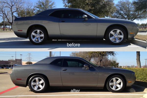Dodge Challenger 2004-2013 1.4 / 1.6 Drop Kit - McGaughys Part # 84000