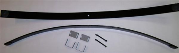"""GMC Sierra 2500HD 2011-2019 1.5"""" Rear Add A Leaf Kit"""