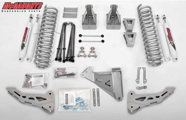 "Ford F350 4wd 2008-2010 8"" Lift Kit W/Shocks Phase I - McGaughys Part#57346"
