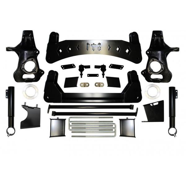 "Chevrolet Silverado 1500 4WD 2019-2021 9"" Full Throttle Suspension Basic Kit"