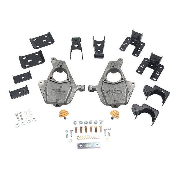 Chevrolet Silverado 2wd/4wd 2016-2018 2/4 Belltech Drop Kit