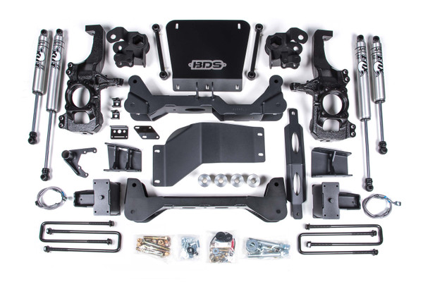 """Chevrolet Silverado 4wd 3500HD 2020 BDS 6.5"""" Lift Kit"""