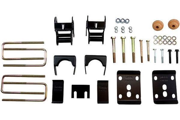 """Ford F-150 4wd Shortbed 2014 Belltech 4"""" Rear Drop Axle Flip Kit"""