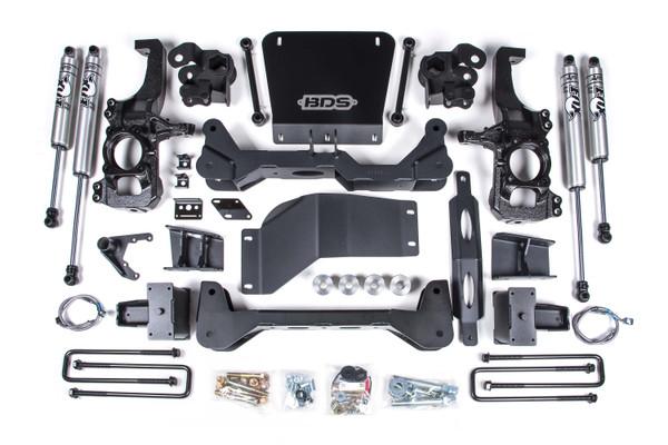 """Chevrolet Silverado 4wd 2500HD 2020 BDS 6.5"""" Lift Kit"""