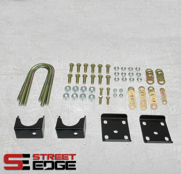 "Chevrolet Silverado 2014-2018 Street Edge Rear 7"" Drop Axle Flip Kit"
