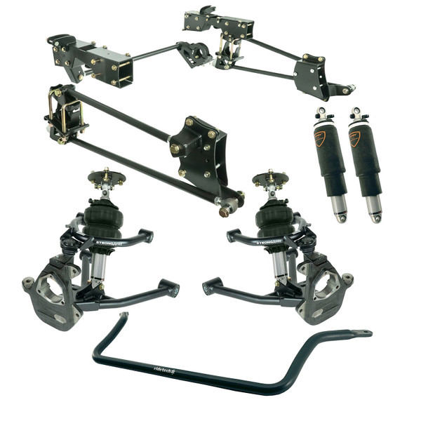 Chevrolet Silverado 1500 2007-2013 Ridetech Complete Air Suspension Kit