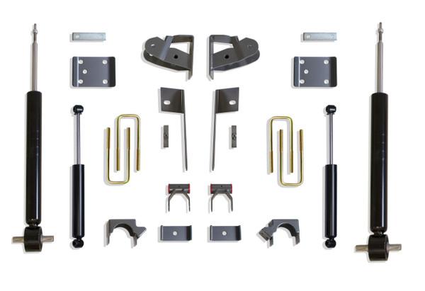 Chevrolet Silverado 1500 2019-2021 Maxtrac Economy 2/4 Lowering Kit