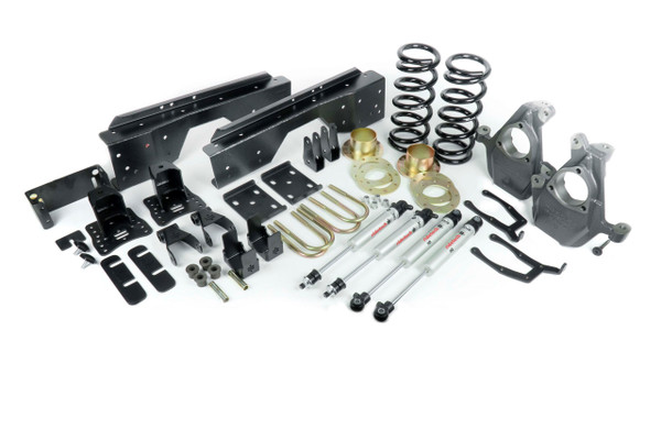 GMC Sierra 1500 2wd 1999-2006 3/5 Ridetech Lowering Kit