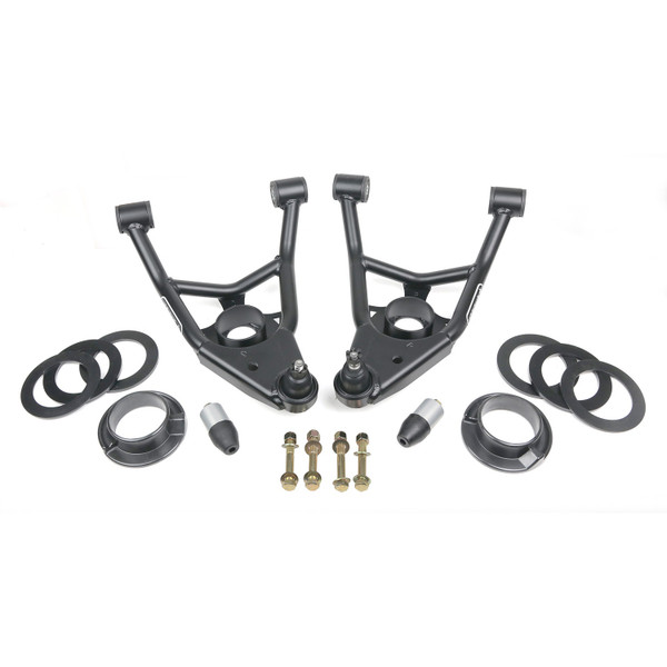 Chevrolet El Camino 1964-1972 Ridetech Front Lower StrongArms for Stock Style Coil Springs
