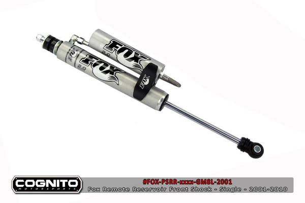 "GMC Sierra 2500HD/3500HD 2001-2010 Fox Performance Front Remote Reservoir 7"" Lift"
