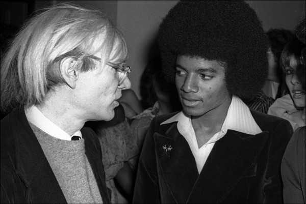 Michael Shemesh: Andy Warhol & Michael Jackson Photo For Sale