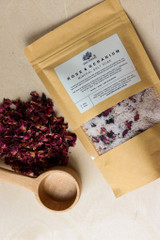 Rose & Geranium Salt Soak