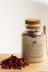 Organic Coco Rose Milk Bath Jar 200g