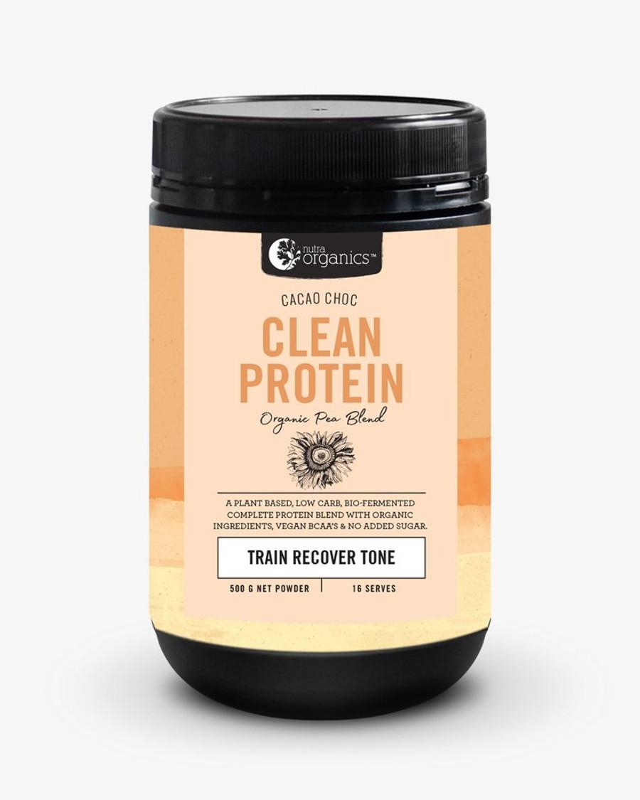 Nutra Organics Clean Protein Cacao Choc 500g