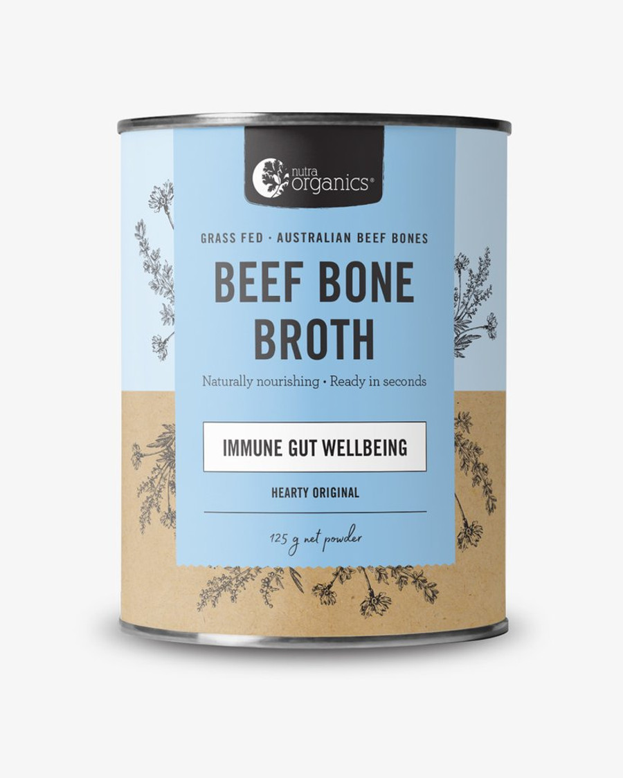 Nutra Organics Beef Bone Broth Hearty Original