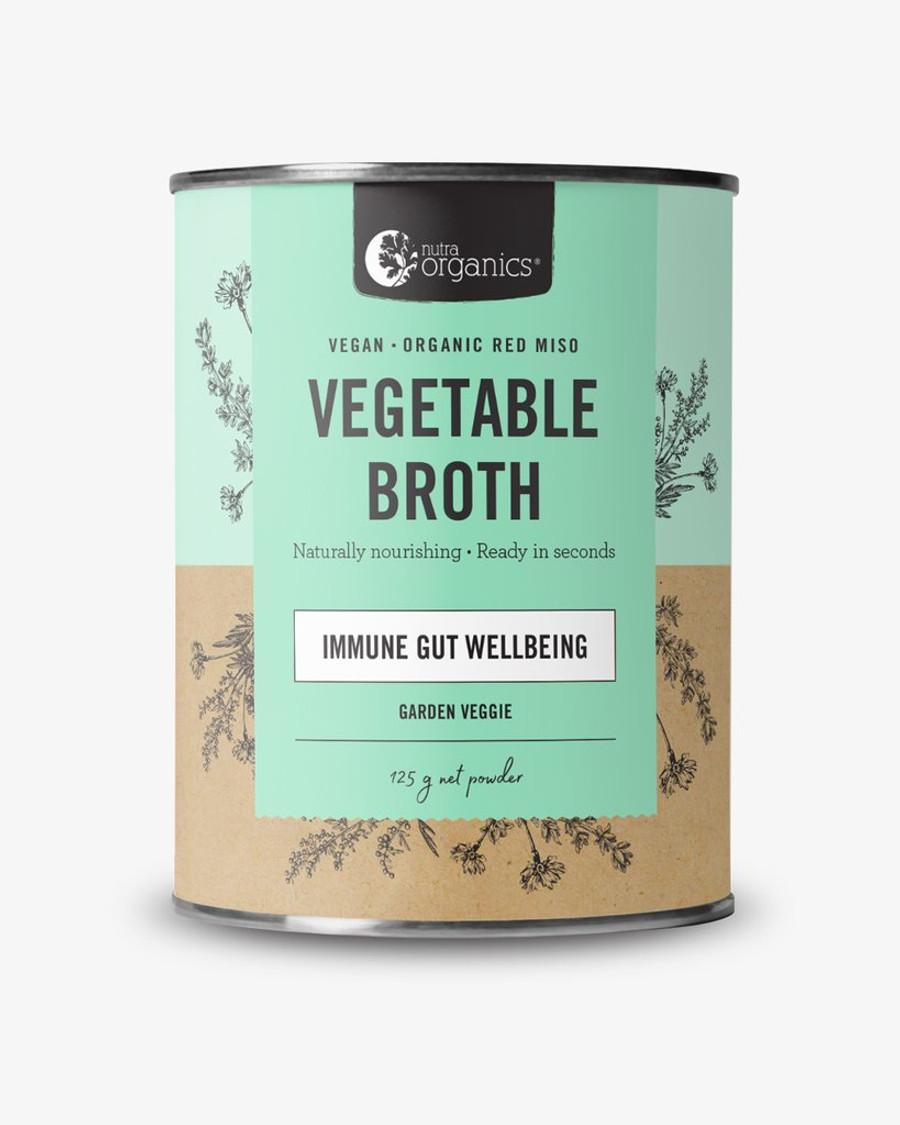 Nutra Organics Vegetable Broth Garden Veggie