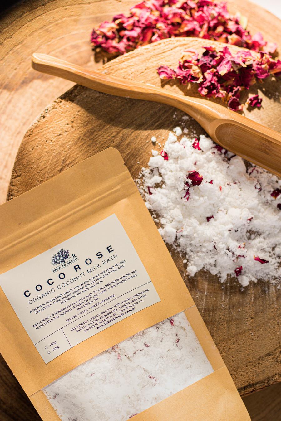B2B Organic Coco Rose Milk Bath