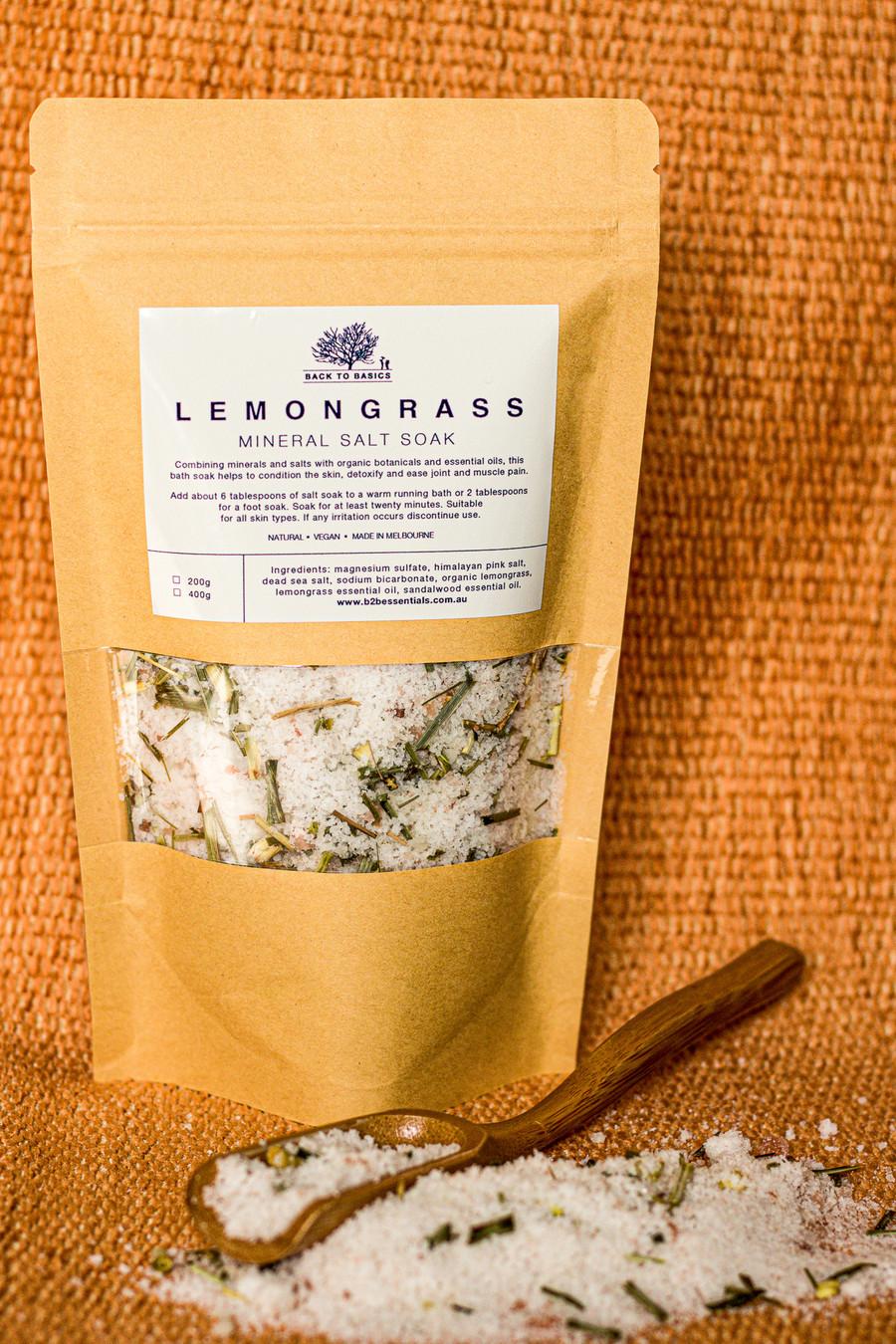 Lemongrass Mineral Bath Salt