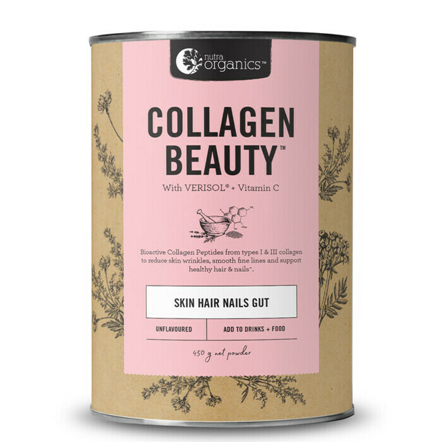 Nutra Organics Collagen Beauty 450g