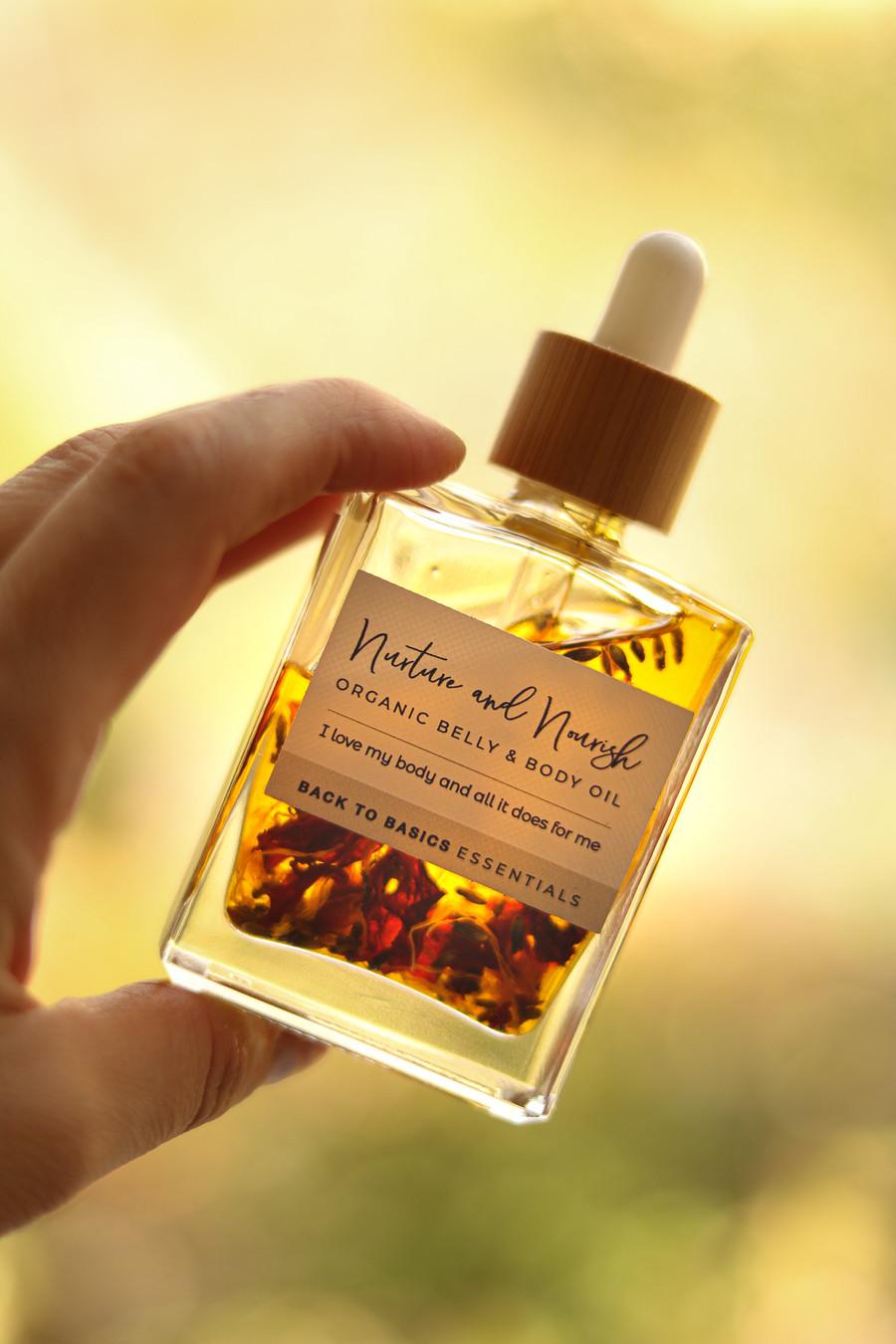Nurture & Nourish- Organic Belly & Body Oil