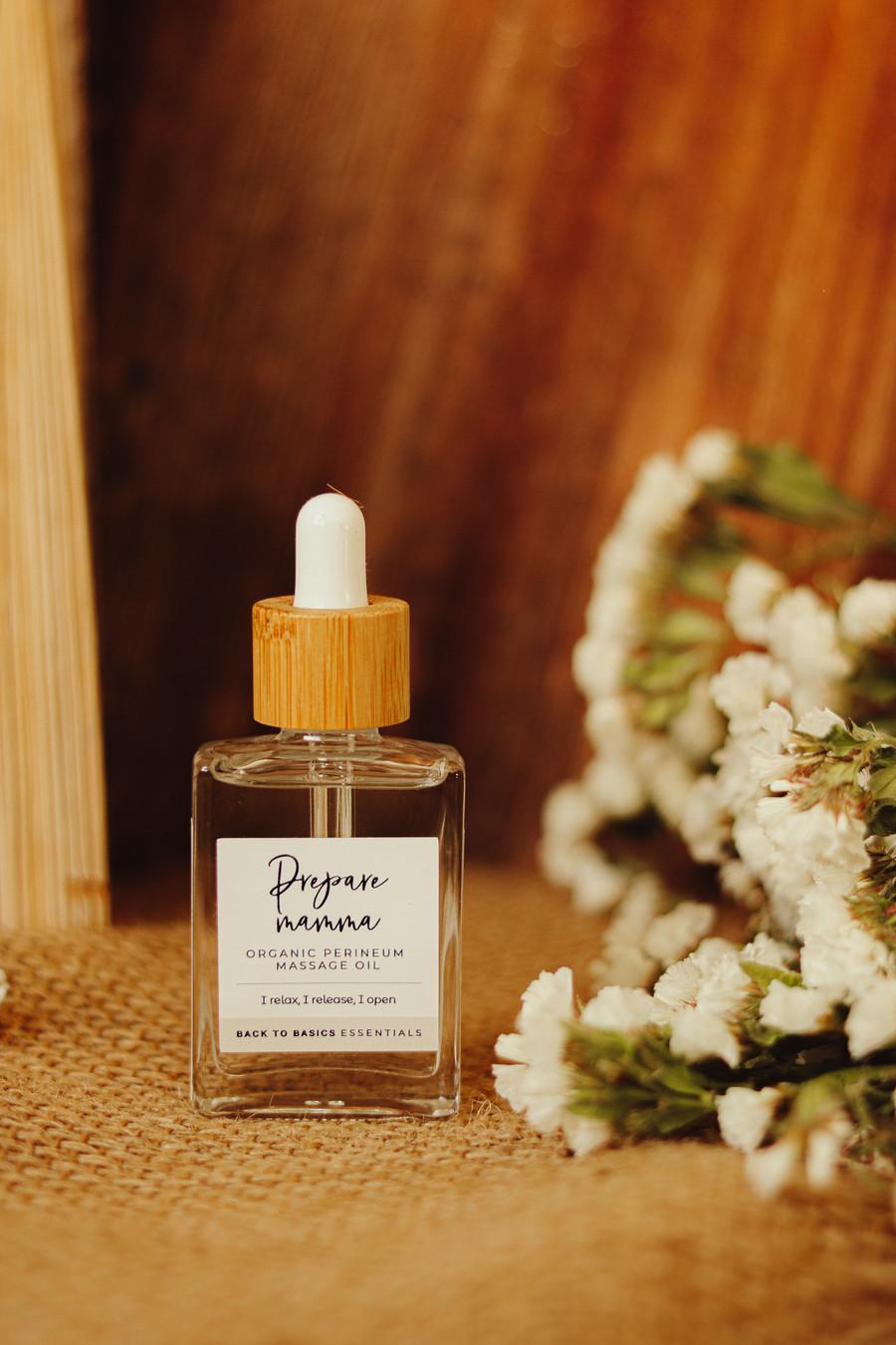 Prepare Mamma-Organic Perineum Massage Oil