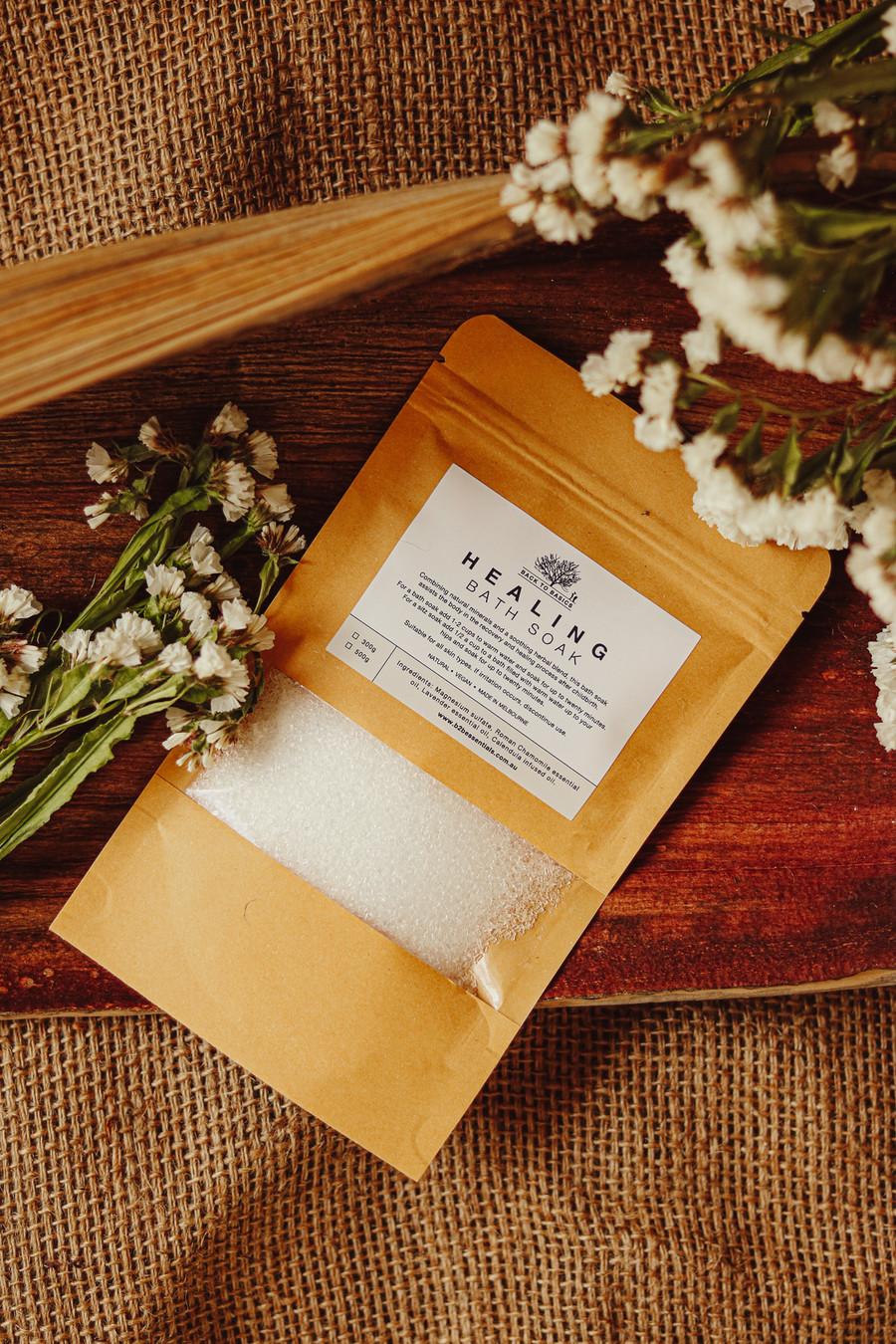 Healing Bath Salt Soak