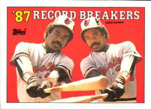 SOLD 10661 1988 Topps #4 Eddie Murray RB NM-MT Baltimore Orioles