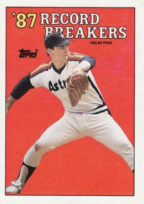 1988 Topps #6 Nolan Ryan RB NM-MT Houston Astros