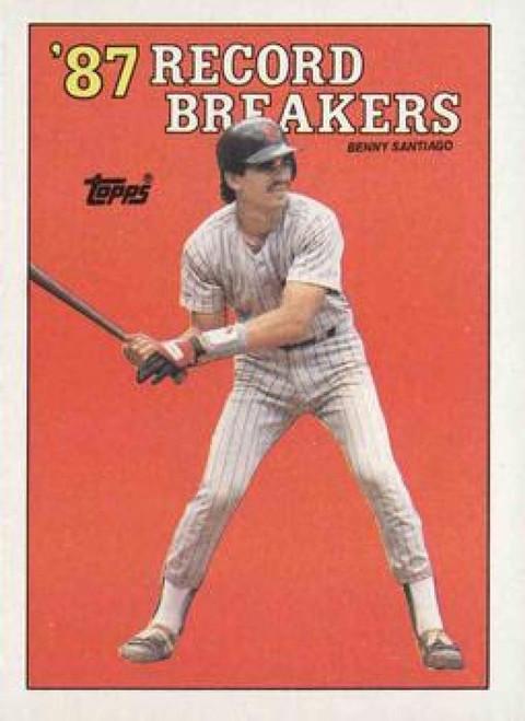 1988 Topps #7 Benito Santiago RB NM-MT San Diego Padres