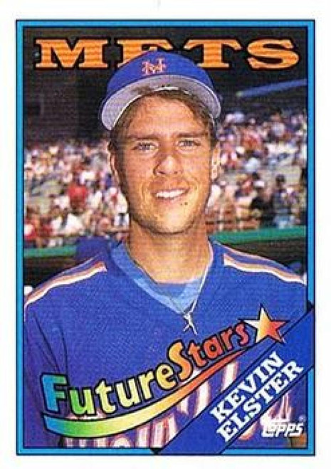 1988 Topps #8 Kevin Elster NM-MT New York Mets