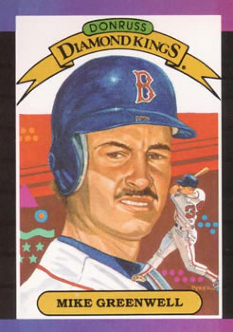 1989 Donruss #1 Mike Greenwell DK NM-MT Boston Red Sox