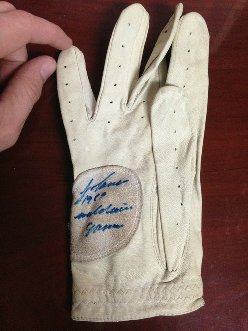 Jose Canseco Autographed 1989 World Series Game Used Batting Glove