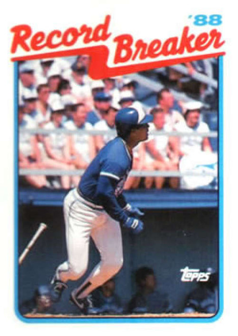 1989 Topps #1 George Bell RB NM-MT Toronto Blue Jays