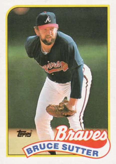 1989 Topps #11 Bruce Sutter NM-MT Atlanta Braves