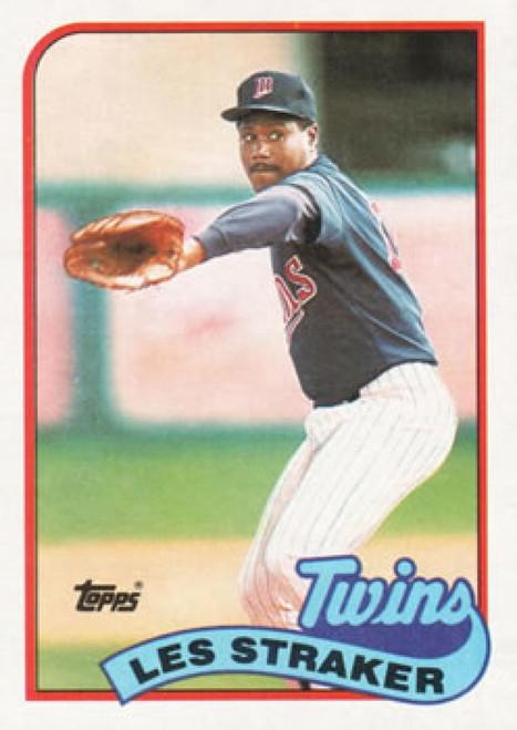 1989 Topps #101 Les Straker NM-MT Minnesota Twins