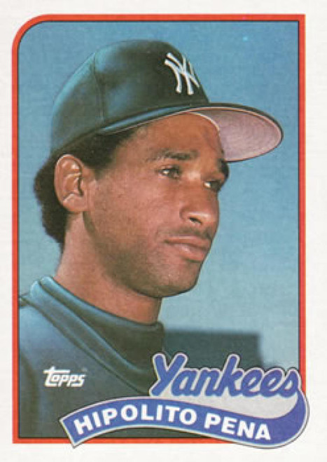 1989 Topps #109 Hipolito Pena NM-MT New York Yankees