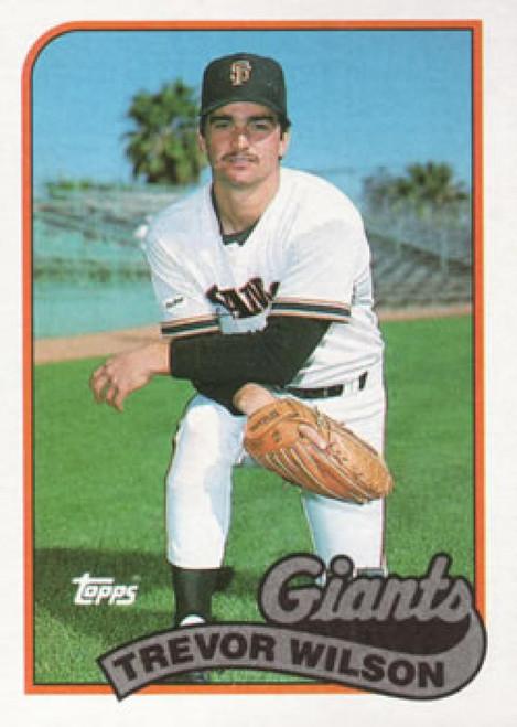 1989 Topps #783 Trevor Wilson NM-MT RC Rookie San Francisco Giants
