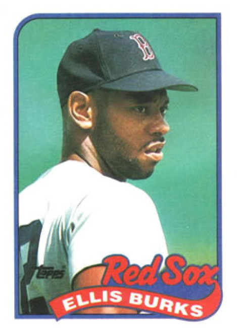 1989 Topps #785 Ellis Burks NM-MT Boston Red Sox