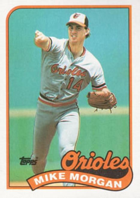 1989 Topps #788 Mike Morgan NM-MT Baltimore Orioles