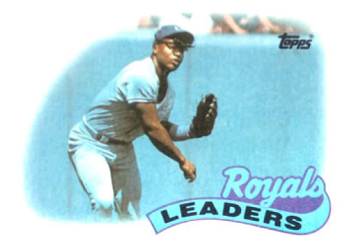 1989 Topps #789 Bo Jackson Kansas City Royals TL NM-MT Kansas City Royals