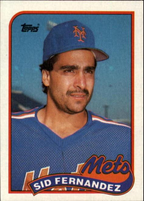 1989 Topps #790 Sid Fernandez NM-MT New York Mets