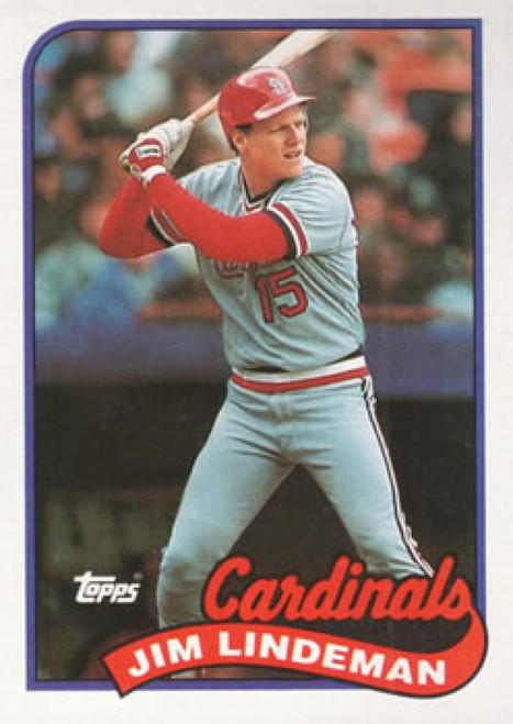 1989 Topps #791 Jim Lindeman NM-MT St. Louis Cardinals