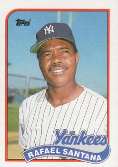 1989 Topps #792 Rafael Santana NM-MT New York Yankees
