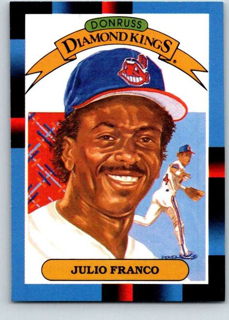 1988 Donruss #10 Julio Franco DK NM-MT Cleveland Indians